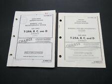 "1957-71 Convair T-29 ""Flying Classroom"" Bomb & Recon Systems Maintenance Manual"