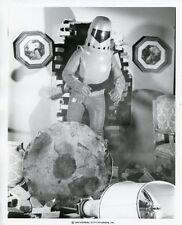EXO-MAN CRASHES THROUGH WALL ROBOT PORTRAIT EXO-MAN ORIGINAL 1979 NBC TV PHOTO