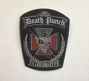 Death Punch Legionary Art Badge Clothes Iron or Sew on Embroidered Patch