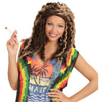 Perruque de Rasta,Jamaïque,Reggae,Marley,Rastafari,dreadlocks,Déguisement,Fête