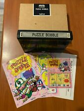 Neo Geo Mvs Puzzle Bobble Full Kit Matching excellent cond Euro version