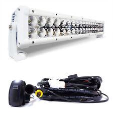 32 Inch LED 180W Flood/Spot Combo Light Bar White Housing for Boat Ship Marine