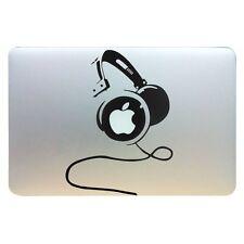 "Dj Headphones Vinyl Decal Sticker Skin for Apple Macbook Pro Air Mac 13"" Inch"