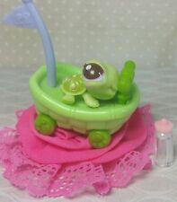 Littlest Pet Shop Schildkröten Baby #2560 RARE Cutest Pets turtle & Zubehör