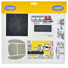 Decal Sheets 1:24 Speedy Vauxhall Service DTM Sticker carson 69171 800039