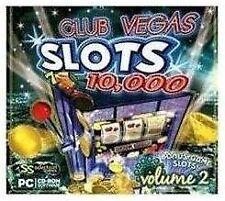 Club Vegas Slots 10,000 Volume 2 PC Game Microsoft Windows