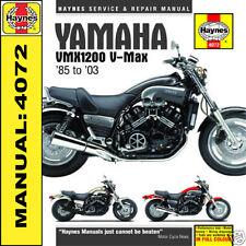 Yamaha V-Max VMX1200 VMax 1985-2003 Haynes Manual 4072 NEW