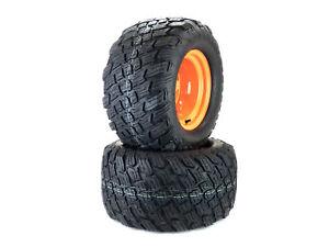 (2) Reaper K3012 HD Tire Assemblies 24x12.00-12 Fits Scag Turf Tiger 481850