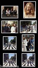 Beatles Abbey Road LP cover photo session 1969, 8 real nice photos, John Lennon