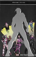 Avengers Comic Issue 6 West Coast Limited Stan Lee Tribute Modern Age 2019