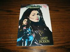 Janet Jackson - Rock-N-Roll Comic Book! Rare! 1992