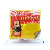 Zig Zag Filter Tips Slim 450