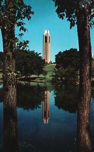 Vintage Postcard World War II Memorial Campanile University of Kansas Lawrence