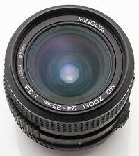 Minolta MD Zoom 24-35mm 24-35 mm 3.5 1:3.5
