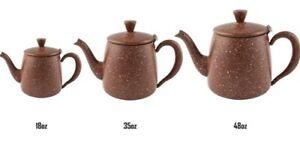 Grunwerg Café Olé Premium Teapot Red Granite effect - 18/35/48oz