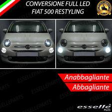 KIT FULL LED FIAT 500 RESTYLING ANABBAGLIANTI ABBAGLIANTI CANBUS BIANCO XENON