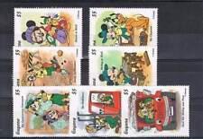 Serie Disney postfris MNH Guyana: Mickey en Goofy (dis084)