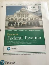 Pearson's Federal Taxation 2018 Comprehensive  Loose Leaf