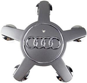 Center Cap Hubcap Audi Q5 4F0601165N A3 A4 A5 A6 A7 A8 S5 R8 TT Wheel OEM