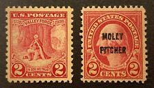 United States #645-6 Mnh. Vf centering. $3.50 Cv.