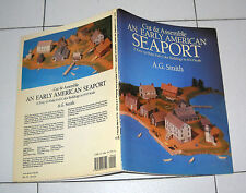 Cut & Assemble AN EARLY AMERICAN SEAPORT A.G. Smith 1984 Kit Duomo