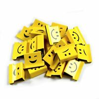 Rapesco 'Supaclip 40' Yellow Assorted Emoji Refill Clips (Pack of 200)