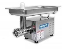 New Meat Grinder 3/4 Hp 115V Stainless Steel 400+ Lb/Hr Pro-Cut Kg-12-Ss #9892