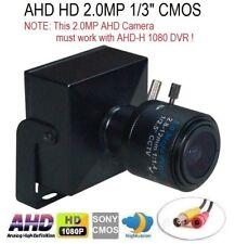 "Ahd 1080P 2.0Mp 1/3"" Sony Imx330 Cmos 2.8-12mm Lens Mini-box Pinhole Spy Camera"