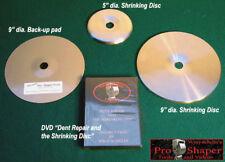 SHRINKING DISC COMBO: English wheel planishing hammer