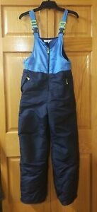 Unisex Champion Blue And Black Insulated Snow Pants. Sz L(12-14)