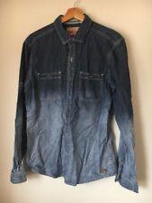 "Shirt Denim Size M 38"" Soft Cotton EDC Brand <T13890"