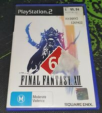 Final Fantasy XII / 12 on PS2