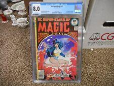 DC Super-Stars 11 cgc 8.0 1977 GREAT Zatanna cover Magic Flash WHITE pgs VF JLA