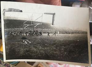 Orig. 1916 University of Chicago Maroons vs. Wisconsin Badgers FOOTBALL Sideline