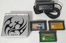 Nintendo Game Boy Advance Sp AGS-101 Tribal Retroilluminato