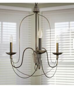Home Decorators Collection Rivy West 3Light Oil Rubbed Bronze W Silver Highlight