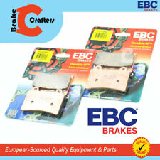 1992 - 1993 YAMAHA TDM850 - FRONT EBC HH RATED SINTERED DISC BRAKE PADS - 2 PAIR