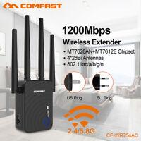 COMFAST CF-WR754AC WLAN Repeater Router Verstärker Extender 1200 Mbps, WPS