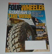 Fourwheeler Magazine April 2012 Giant 4x4 Tire Guide, Ford Raptor F-150 SVT