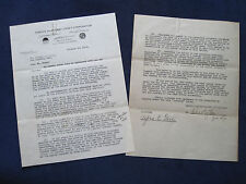 Original FAMOUS PLAYERS TYPED CONTRACT SIGNED by Director ALFRED E. GREEN