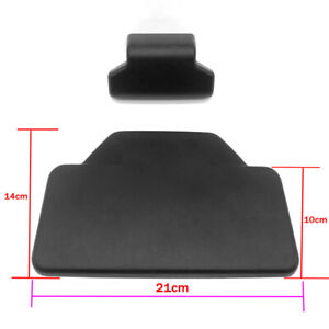 Universal Motorcycle Bike CNC Tail Top Box Backrest Cushion Lazyback Pad Trims