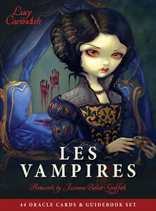 Les Vampires Oracle Cards by Lucy Cavendish and Jasmine Becket-Griffith