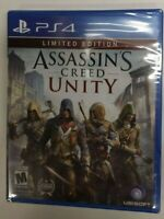 Assassin's Creed Unity Limited Edition (Sony PlayStation 4 PS4, 2014) Brand New