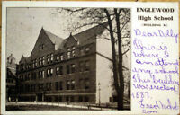 1906 Postcard: Englewood High School, Building A - Chicago, Illinois IL