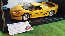 FERRARI F50 amarillo compra 1/18 ELITE HOT RUEDAS J2930 coche miniatura