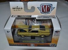 M2 MACHINES CASTLINE DETROIT MUSCLE 1968 FORD MUSTANG FASTBACK 2+2 200 R37