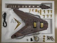 GuitarKit.Store / Flying V guitar DIY Electric Guitar Kit DIY guitar (GTSFV-950)