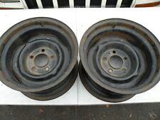 Chevrolet C10 Gmc Truck 5x5 Bolt Circle 15x8 Oem Steel Wheel Dog Dish Hubcap