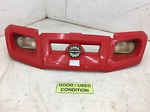 03-UP BOMBARDIER CAN AM RALLY 200 175 HEADLIGHTS W/ GRILL FENDER PLASTIC #220