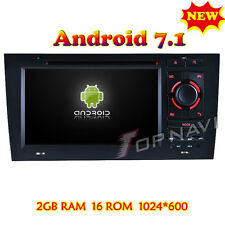 Quad Core Android 7.1 Car DVD Player Video For Audi A6 1997–2004 Stereo GPS Navi